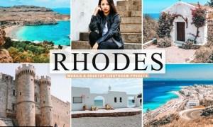 Rhodes Mobile & Desktop Lightroom Presets