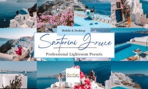 Santorini Blue Lightroom Presets 5254839