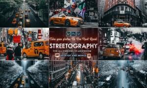 Streetography - Cinematic Lightroom Presets