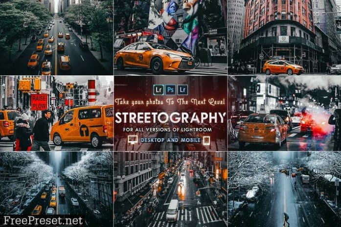 Streetography - Cinematic Lightroom Presets