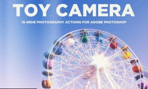 Toy Camera Photography Actions for Adobe Photoshop U9UE93