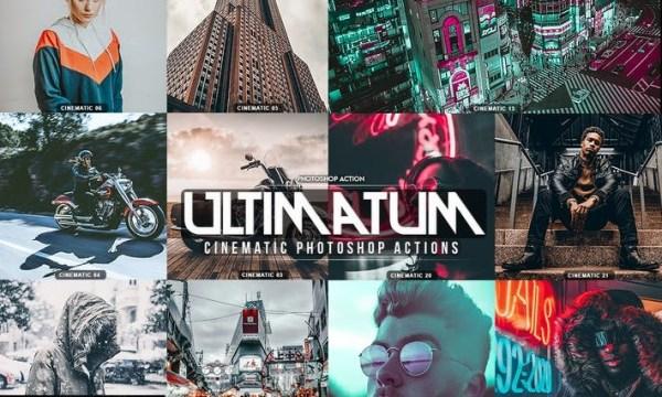 Ultimatum Cinematic Photoshop Actions 27RVVEY