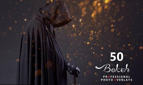 50 Halloween Bokeh Photo Overlays JK3WU9M