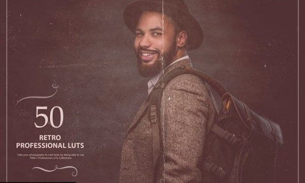 50 Retro LUTs (Look Up Tables)