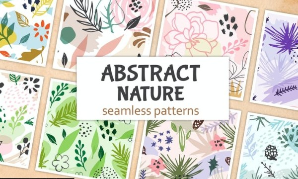 Abstract Seasonal Floral Patterns 6QHNWYP