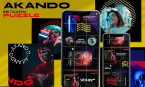 Akando - Puzzle Instagram Template WTKU7F3