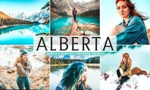 Alberta Mobile & Desktop Lightroom Presets