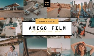 Amigo Film – 4 Lightroom Preset Pack 4868905