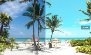 Carmen Beach Mobile & Desktop Lightroom Presets