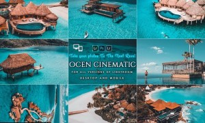 Cinematic Ocean Presets For Mobile and Desktop