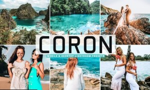 Coron Mobile & Desktop Lightroom Presets
