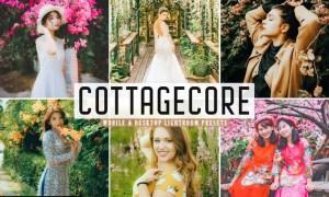 Cottagecore Mobile & Desktop Lightroom Presets