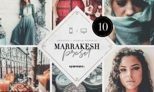 Marrakesh Lightroom Presets Bundle 5251798