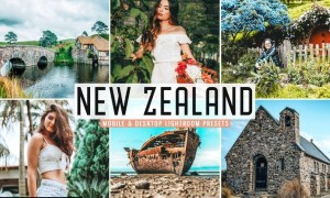 New Zealand Mobile & Desktop Lightroom Presets