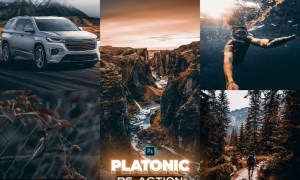PLATONIC Photoshop Action 43782KY