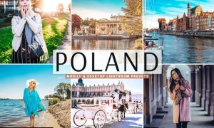 Poland Mobile & Desktop Lightroom Presets