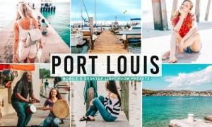 Port Louis Mobile & Desktop Lightroom Presets