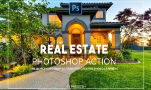 Real estate Photoshop Actions ECWJK87
