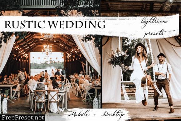 Rustic Wedding Lightroom Presets