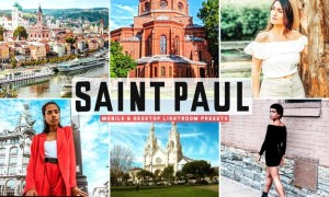 Saint Paul Mobile & Desktop Lightroom Presets