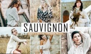 Sauvignon Mobile & Desktop Lightroom Presets