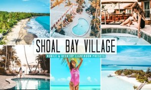 Shoal Bay Village Mobile & Desktop Lightroom Prese