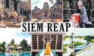 Siem Reap Mobile & Desktop Lightroom Presets