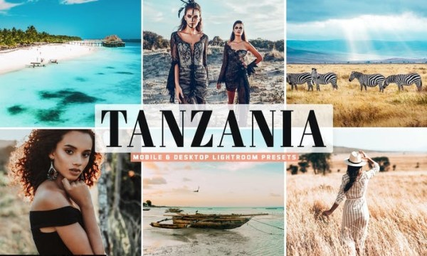 Tanzania Mobile & Desktop Lightroom Presets