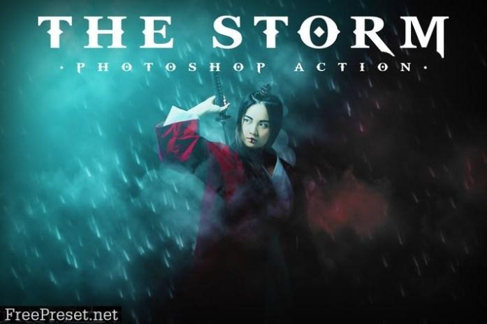 The Storm Photoshop Action B6PZ5RV