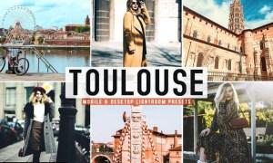 Toulouse Mobile & Desktop Lightroom Presets
