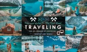 Travel Lightroom Presets ( Mobile & Desktop )