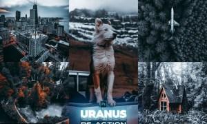 URANUS Photoshop Action UKR2D63