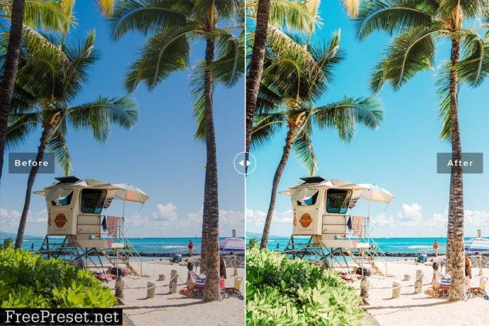 Waikiki Mobile & Desktop Lightroom Presets