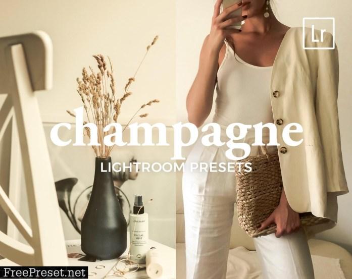 4 Lightroom Presets CHAMPAGNE 5321473