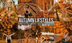 Autumn Lightroom Presets ( mobile and Desktop )