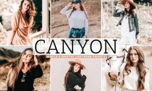 Canyon Mobile & Desktop Lightroom Presets