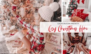 Cozy Christmas Home Lightroom Presets