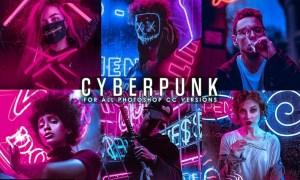 Cyberpunk - Life Styles Photoshop Action 2X76SEN