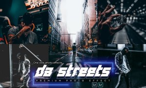 Da Streets Lightroom Presets Mobile & PC