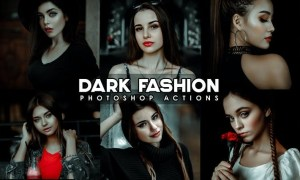 Dark Urban Black Fashion Actions Q6ELMJB