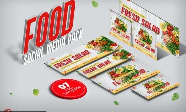 Food social media pack MJG8P8K