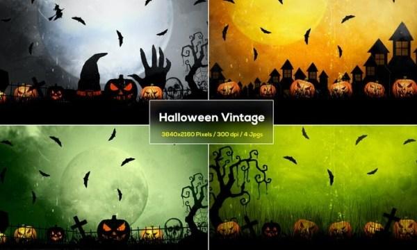 Halloween Vintage Backgrounds 7JKY4KL