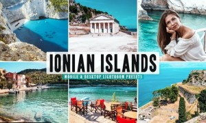 Ionian Islands Mobile & Desktop Lightroom Presets