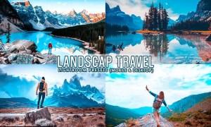 Landscape travel Preset For Mobile and Desktop