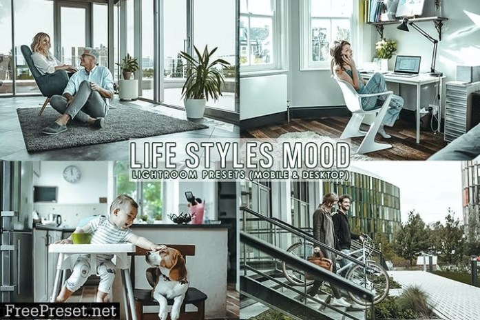 Life Styles Presets For Mobile and Desktop