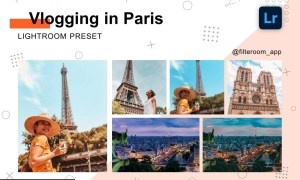 Lightroom Preset - Vlogging in Paris 5239994