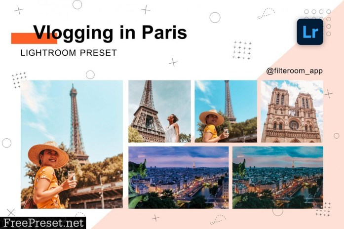 Lightroom Preset - Vlogging in Paris 5239994