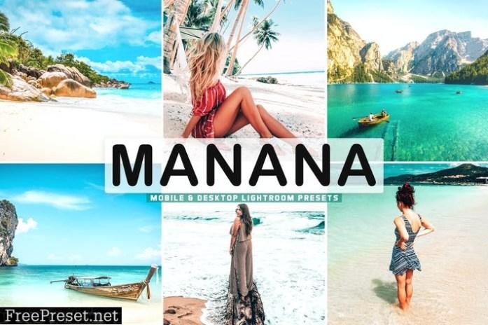 Manana Mobile & Desktop Lightroom Presets