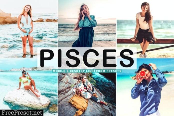 Pisces Mobile & Desktop Lightroom Presets