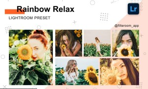 Rainbow Relax - Lightroom Presets 5236620
